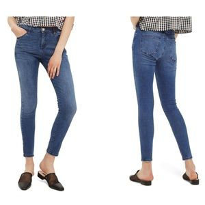 TopShop Sidney moto jeans NWT